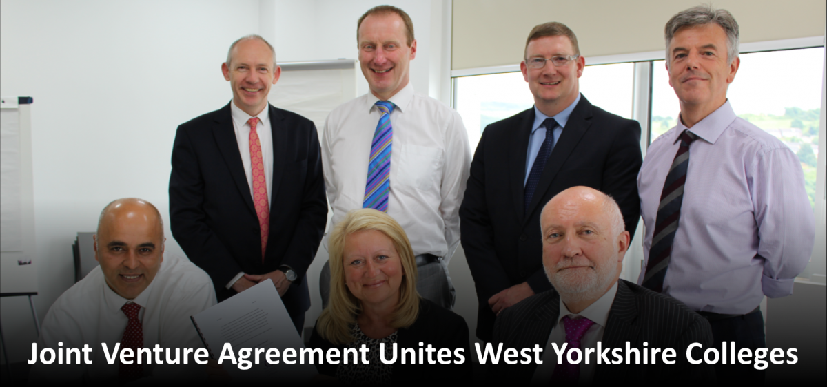 Joint Venture Agreement Unites West Yorkshire Colleges